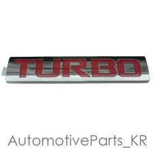 Genuine OEM 'TURBO' Lettering Emblem Badge for Chevrolet 11 12 13 2014 Cruze