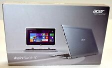 "Acer 10.1"" Aspire Switch Detachable Laptop SW5-011-13GQ NT.L47AA.003 
