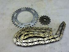 Honda NC35 RVF400 94' chain with sprockets