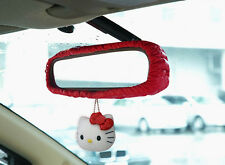 New Hello Kitty Rear View Mirror Cover Car Accessories