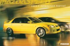 2003 1/2 Mazda Mazdaspeed Protege ORIGINAL Large Factory Postcard my1567