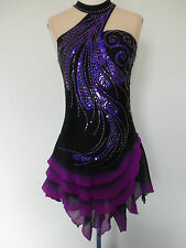 CUSTOMIZED ICE SKATING BATON TWIRLING COSTUME DRESS