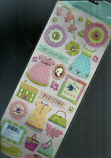DOLLHOUSE PLAYTIME - K & CO BRENDA WALTON EMBOSSED STICKER EMBELLISHMENT