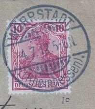 == DR Germania Mi. 86 Ic gest. auf Dienstsache, gepr. BPP, Kat. 500€ ==