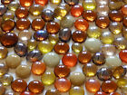 100 x Glass Pebbles / Nuggets / Stones / Gems - Autumn Spice