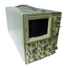 TEKTRONIX 7623A STORAGE OSCILLOSCOPE  WITH TWO 7A26 & ONE 7B53 PLUGINS