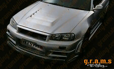 Nismo Z-Tune Style Bonnet Hood Vent Vents S13 S14 S14A S15 R32 R33 R34 v4
