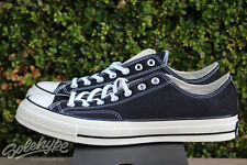 CONVERSE ALL STAR CHUCK TAYLOR CT 70 OX SZ 10.5 BLACK 144757C