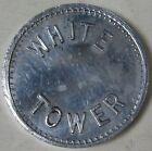 1930's-40s Aluminum Token Good for 5 Cent Upon Return of Milk Bottle White Tower