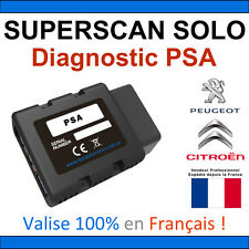 Valise Diagnostic PEUGEOT CITROEN - OBD2 BLUETOOTH DiagBox Lexia PP2000 DELPHI