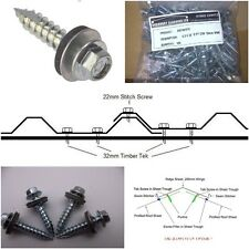 box profile - corrugated - tile effect roof fixings