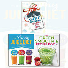 Green Smoothie Recipe Book,Skinny Juice Diet 2 Books Collection With Journal Set