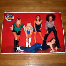 "Rare 1998 - Spice Girls Poster - NEW 23.25"" x 33"" - Music Spice World"