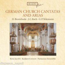 Buxtehude; J.C.Bach; Telemann: Arie e Cantate Tedesche / Jacobs, Kuijken Cons CD