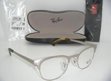 Ray-Ban Clubmaster EYEGLASSES RB 6317 2835 49MM Matte Silver RX READY FRAME