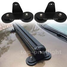2x Magnetic Base Bracket Mount Holder For OffRoad SUV 4x4WD LED Light Bar Lamp