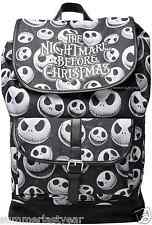 "THE NIGHTMARE BEFORE CHRISTMAS ""JACK HEADS"" BACKPACK ~ FREE PRIORITY SHIPPING"