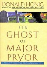 The Ghost Of Major Pryor: A Novel of Murder in the Montana Territory, -ExLibrary