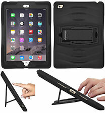 AMZER TUFFEN Rugged Triple Layer Case Media Stand + Screen Guard For iPad Air 2