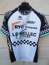 Maillot cycliste VANNES Cycles LE MELLEC Damier Giordana Bianchi S 2 46