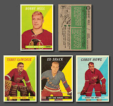 1958-59 T. Complete Set Reprint (66 cards) Mint Condition
