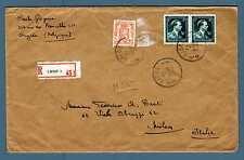 BELGIUM - BELGIO - 1946 - BUSTA - Dal Belgio a Milano -  E3803