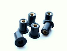 Well nut, Rubber nut M5 x 0.8mm x 6