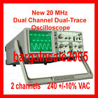 New 20 MHz Dual Channel Dual-Trace Oscilloscope