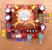 TDA7379 2.1 Channel 38W+13W+13W Bass Subwoofer Amplifier Board + Fan 12v-22V