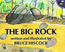 The Big Rock by Bruce Hiscock (1999, Paperback) Children's Science Book NEW