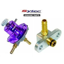 SYTEC SAR FUEL PRESSURE REGULATOR PURPLE + FUEL RAIL ADAPTOR - MAZDA 323F / GTR