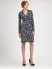 """NWT $368 Diane Von Furstenberg  DVF """"New Jeanne Two"""" Wrap Dress 2"""
