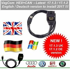 2017✔ Vag-Com v 17.1.3 ✔ HEX+CAN diagnostic cable with soft ✔ German or English