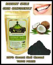 Activated Coconut Charcoal Powder, TEETH WHITENING, TOOTHPASTE ;(Premium Grade)