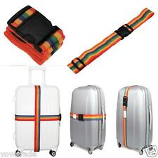 Backpack Bag Luggage Suitcase Straps Baggage Rainbow Belt Adjustable New