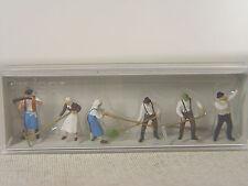 Bauern bei der Heuernte - Preiser HO Figuren 1:87 - 10045 #E