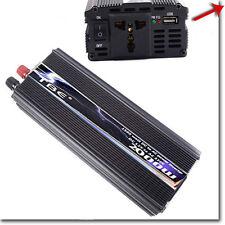 INVERTER 2000W 12V 220V CON USB TRASFORMATORE PER CAMPER AUTO BARCA