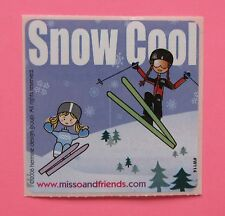 15 Flawed, Misprinted Snow Cool - Large Stickers - Miss O and Friends