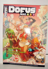 MAGAZINE OFFICIEL DE DOFUS DOFUS ARENA ET WAKFU N°13  DECEMBRE 2009 JANVIER 2010