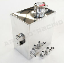 Universal Aluminum Coolant Radiator Overflow Recovery Water Tank Bottle 2.5L New
