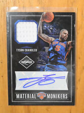 Tyson Chandler 2011-12 Panini Limited Material Monikers Jersey Autograph #D /49