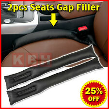 2pcs PU Leather Car Seats Leakproof Stop Gap Filler Padding Pad Seam Holster n