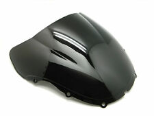 SMOKE BLACK DOUBLE BUBBLE WINDSCREEN WINDSHIELD FOR 1999-2000 HONDA CBR600 F4
