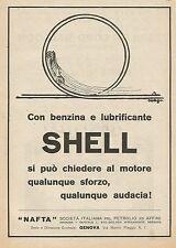 Y0222 Benzina e lubrificante Shell - Pubblicità d'epoca - Advertising