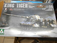 TAKOM 03.01.2047,1/35 SCALE KING TIGER HENCHEL TURRET 505 PLASTIC MODEL KIT