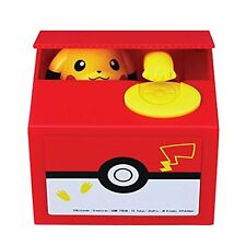 Pokemon Go Inspired Electronic Coin Money Piggy Bank Box Game Toy Pickachu Play