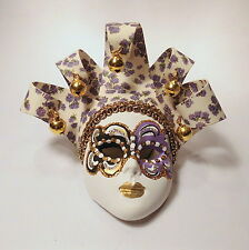 Venezianische Maske mit Aufhängung Italien Venedig