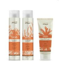 Natural Look Oasis Moisturising Shampoo, Conditioner 375ml & Cream 200ml