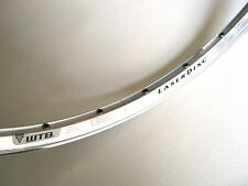 "WTB Cross Country 26"" Rim Laser Disc Alloy Clincher 28 Hole MTB Bike Bicycle NOS"
