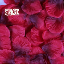 New Wedding Flower girl Basket Rose Artificial Petals Table Scatters 5cm 500pcs